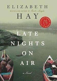 <i>Late Nights on Air</i> book by Elizabeth Hay