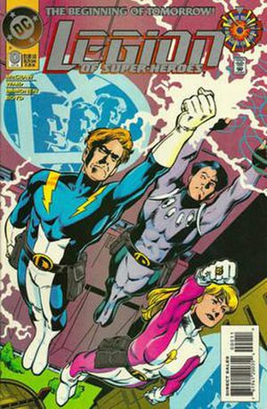 Legion of Super-Heroes (1994 team) - Image: Legion v 4 0