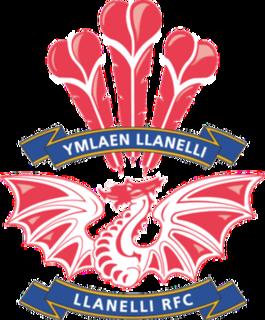 Llanelli RFC Welsh rugby union football club