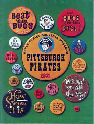1971 Pittsburgh Pirates season - 1971 World Series Program – Pittsburgh Pirates' version