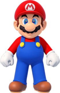 Mario fictional character from Nintendos Mario franchise