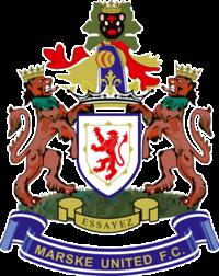 Marske United's emblem