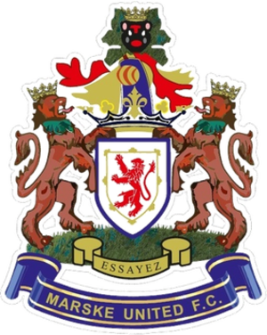 Marske United F.C. - Marske United's emblem
