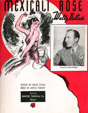 Mexicali Rose (song) - Image: Mexicali Rose sheet music