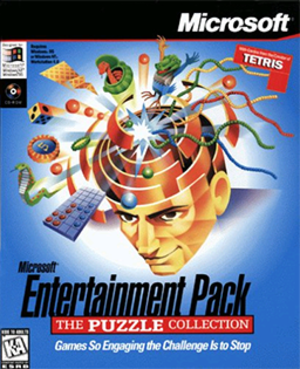 Microsoft Entertainment Pack: The Puzzle Collection - Image: Microsoft Entertainment Pack The Puzzle Collection Coverart