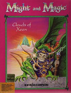 <i>Might and Magic IV: Clouds of Xeen</i> video game