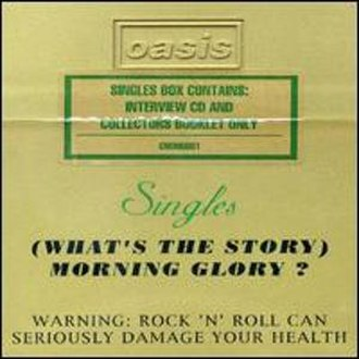 (What's the Story) Morning Glory? - Image: Morning Glory (singles box)