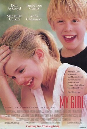 My Girl (film) - Theatrical release poster