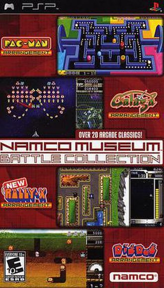 Namco Museum Battle Collection - Image: Namco museum battle collection cover