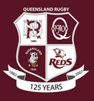 Queensland Reds - 2007 commemorative logo
