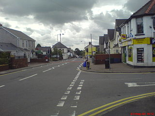 New Inn village and community in Torfaen County Borough in south east Wales