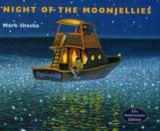 <i>Night of the Moonjellies</i> childrens picture book by Mark Shasha