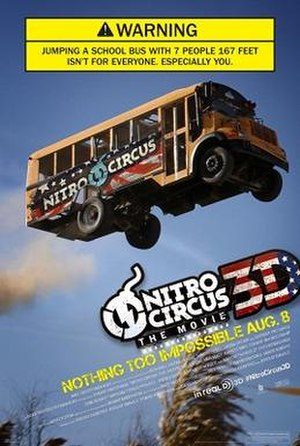Nitro Circus: The Movie - Theatrical release poster