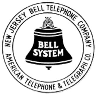 Verizon New Jersey - New Jersey Bell logo, 1921-1939