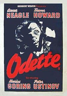 <i>Odette</i> (1950 film) 1950 film by Herbert Wilcox