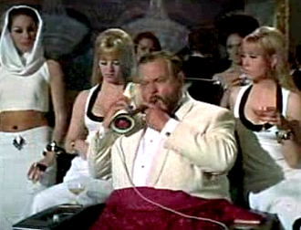 Le Chiffre - Orson Welles as Le Chiffre in Casino Royale (1967)