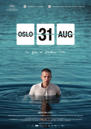 Oslo, August 31st - Theatrical release poster