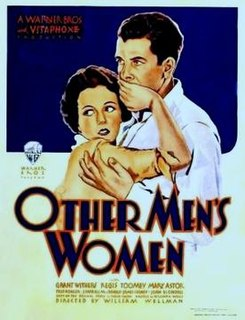 <i>Other Mens Women</i> 1931 film by William A. Wellman