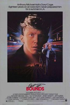 Out of Bounds (1986 film) - Out of Bounds movie poster
