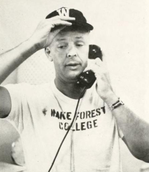 Paul Amen - Amen pictured in The Howler 1959, Wake Forest yearbook