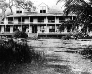 Peacock Park - Image: Peacock Inn, 1896