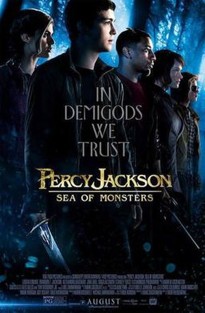 Percy Jackson: Sea of Monsters - Image: Percy Jackson Sea poster