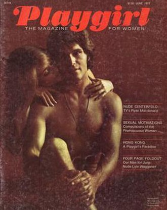 Playgirl - June 1973 cover (Issue 1, Number 1)