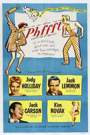 Phffft - Theatrical poster