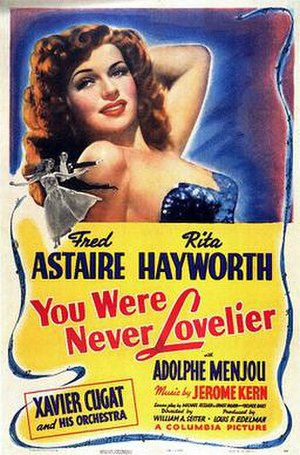 You Were Never Lovelier - theatrical poster