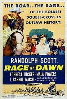 <i>Rage at Dawn</i> 1955 American western film