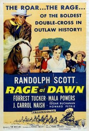 Rage at Dawn - Image: Poster of the movie Rage at Dawn