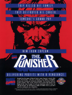 <i>The Punisher</i> (1993 video game) 1993 arcade game