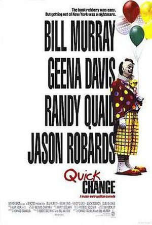 Quick Change - Theatrical release poster