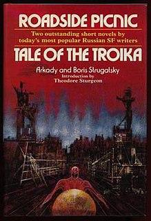 <i>Roadside Picnic</i> Russian sci-fi novel