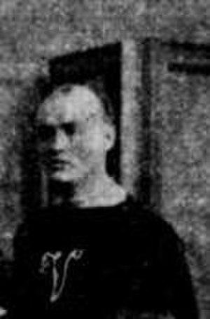 Robert Jones (ice hockey) - Photo of Jones in the team picture of the Montreal Victorias in 1895