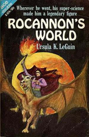 Rocannon's World - Cover of the first edition