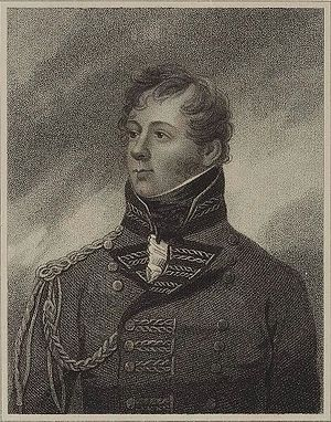 53rd (Shropshire) Regiment of Foot - Major-General Rollo Gillespie who died leading the British troops at the Battle of Nalapani in October 1814