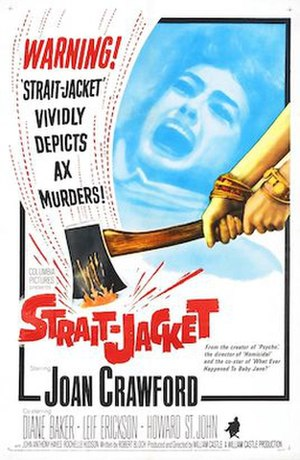 Strait-Jacket - Original theatrical poster