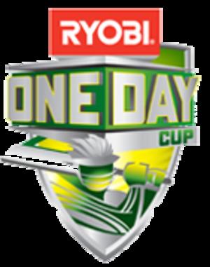 2010–11 Ryobi One-Day Cup - Image: Ryobi One Day Cup Logo