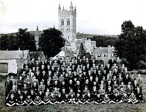 St Boniface's Catholic College - St Boniface's College at Buckfast Abbey (1941)