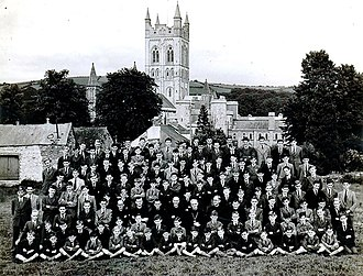 St Boniface's Catholic College - St Boniface's College at Buckfast Abbey (1941)