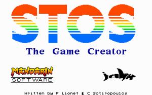 STOS BASIC - Image: STOS BASIC loading screen