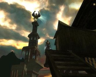 Dungeons & Dragons Online - In-game screenshot detailing the 3D graphics