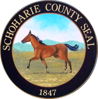 Schoharie County, New York - Image: Schoharie County, New York seal