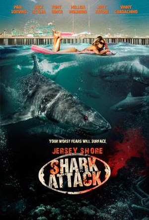 Jersey Shore Shark Attack - Image: Shark Attack poster