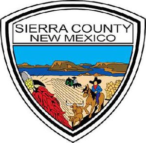 Sierra County, New Mexico - Image: Sierra County NM seal