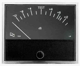 Peak programme meter - An EBU scale quasi-PPM as used for international programme exchange.