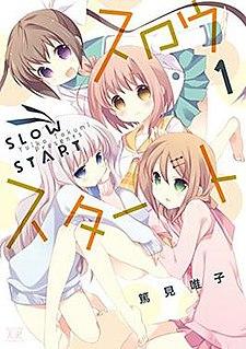 <i>Slow Start</i> (manga) Japanese manga series