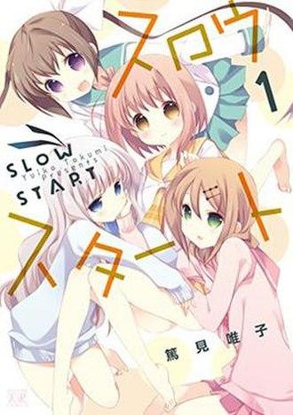 Slow Start (manga) - Cover of Slow Start volume 1 by Houbunsha