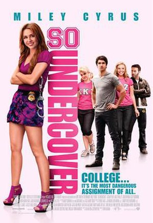 So Undercover - British theatrical release poster